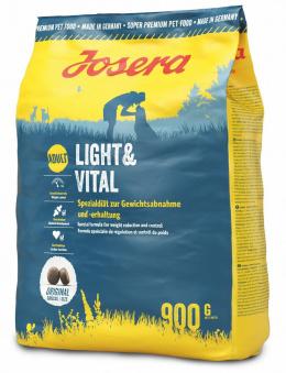 Diētiskā barība suņiem - Josera Adult Light&Vital, 900 g