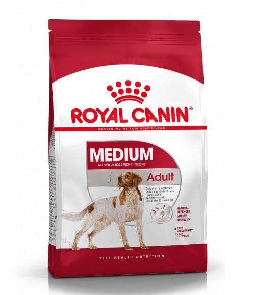 Barība suņiem - Royal Canin Medium adult, 15 kg