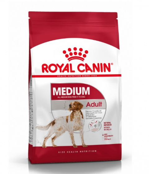 Корм для собак - Royal Canin Medium adult, 15 кг