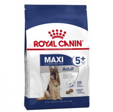 Корм для собак сеньоров - Royal Canin Maxi adult 5+, 4 кг