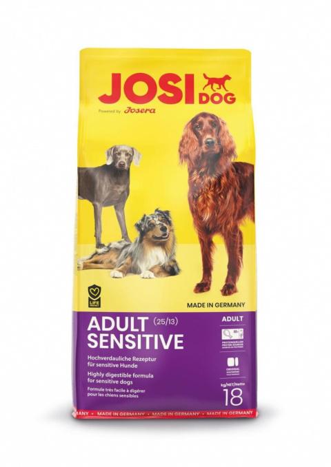 Barība suņiem - Josera JosiDog Sensitive, 18 kg