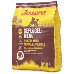 Barība suņiem - Josera Adult Geflugel Menu, with poultry, 900 g