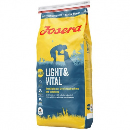 Диетический корм для собак - Josera Adult Light & Vital, 15 кг
