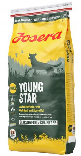 Barība kucēniem - Josera Young Star 15 kg