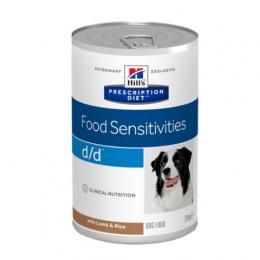 Ветеринарные консервы для собак - Hills Canine d/d Lamb, 370 г