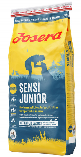 Корм для щенков - Josera Sensi Junior (with duck&salmon) 15 кг