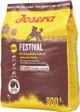 Barība izvēlīgiem suņiem - Josera Adult Festival with Salmon, 900 g