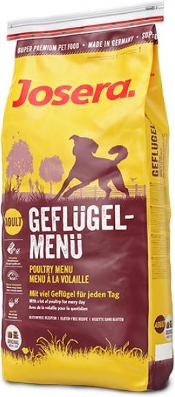Barība suņiem - Josera Adult Geflugel Menu, with poultry, 15 kg