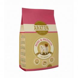 Barība suņiem - Araton Dog adult mini & medium, 3 kg