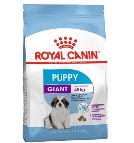 Корм для щенков - Royal Canin Giant Puppy, 15 кг title=