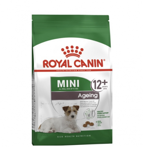 Barība suņiem senioriem - Royal Canin Mini Ageing+12, 1.5 kg