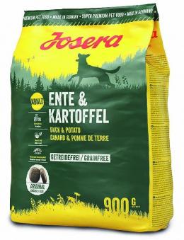 Корм для собак - Josera Duck & Potato, 900 гр