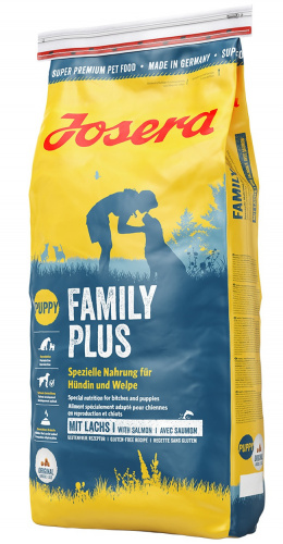 Корм для кормящих сук и щенков - Josera Emotion Family Plus, with salmon, 15 кг