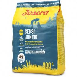 Barība kucēniem - Josera Sensi Junior duck&salmon, 900 g
