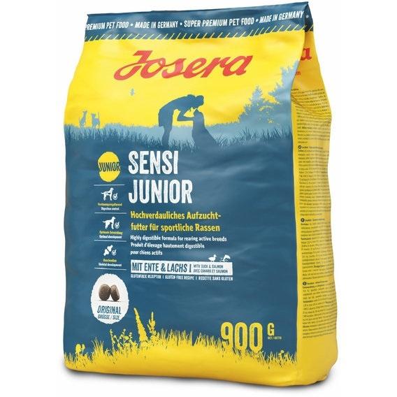 Корм для щенков - Josera Sensi Junior, с уткой и лососем, 900 г