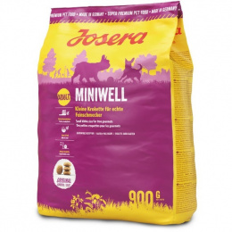 Корм для собак - Josera Adult Miniwell, 900 г