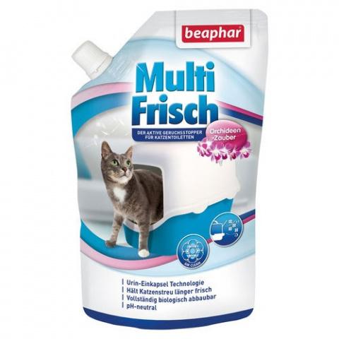 Дезодорант для кошачьего туалета – Beaphar Odour killer Orchidee, 400 г title=