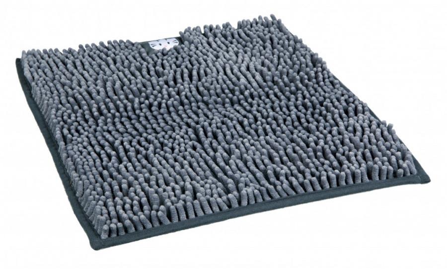 Коврик для кошачьего туалета – TRIXIE Litter Tray Mat, 38 x 38 см, Grey