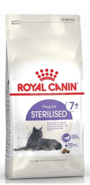 Barība kaķiem - Royal Canin Feline Sterilised +7, 3.5 kg