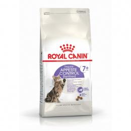 Barība kaķiem senioriem - Royal Canin Feline Sterilised Appetite control +7, 1.5 kg