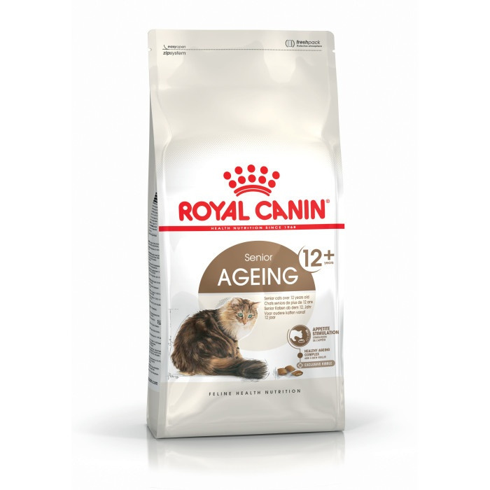 Barība kaķiem - Royal Canin Feline Ageing +12, 2 kg