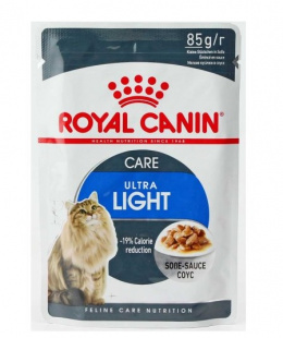 Konservi kaķiem - Royal Canin Feline Ultra Light (mērcē), 85 g