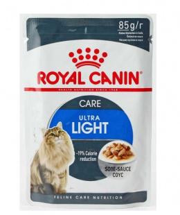 Konservi kaķiem - Royal Canin Feline Ultra Light (mērcē), 85 g