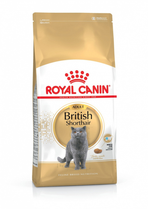 Barība kaķiem - Royal Canin Feline British Shorthair, 4 kg title=
