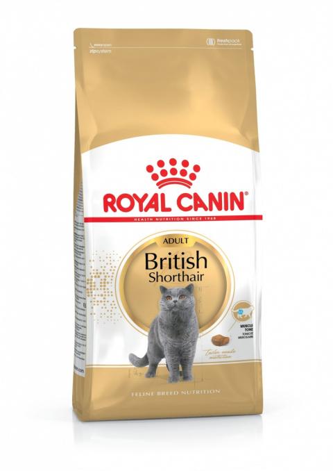 Корм для кошек - Royal Canin Feline British Shorthair, 4 кг title=