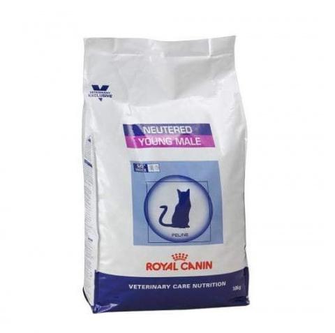 Veterināra barība kaķiem - Royal Canin Veterinary Diet Feline Neutered Young Male, 10 kg
