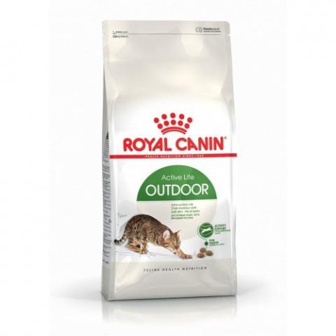 Barība kaķiem - Royal Canin Feline Outdoor, 10 kg