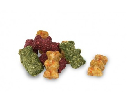 Bezgraudu gardums grauzējiem - JR FARM Crunchy bears 30 g