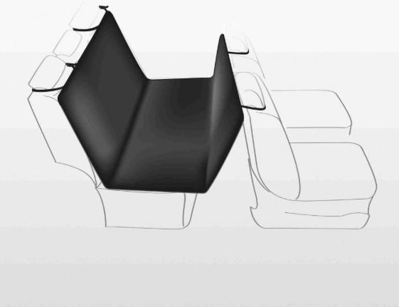 Automašīnas sēdekļu pārklājs - Trixie Car seat cover, 1.45 x 1.60 m