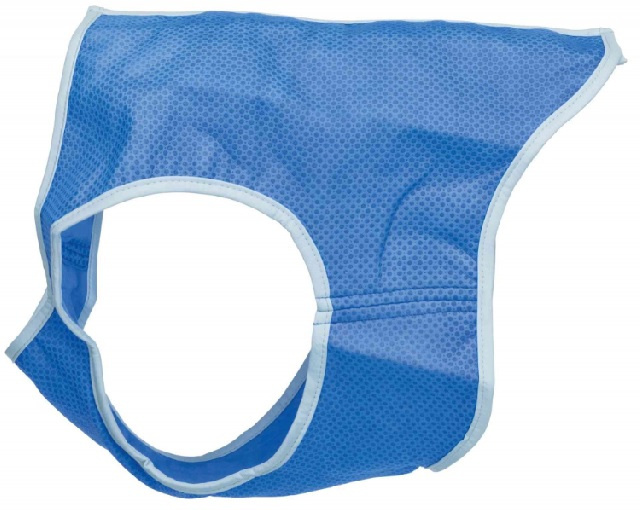 Atvēsinoša veste - Trixie Cooling Vest, PVA, L: 35 cm, blue