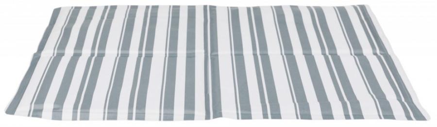 Atvēsinošs paklājiņš - Trixie Cooling Mat, 65*50 cm, white/grey