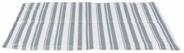 Охлаждающий коврик – TRIXIE Cooling Mat, 65 x 50 см, White/Grey