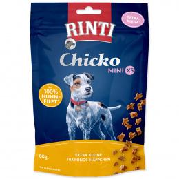Gardums suņiem - Rinti Extra Chicko Chicken Mini XS, 80 g