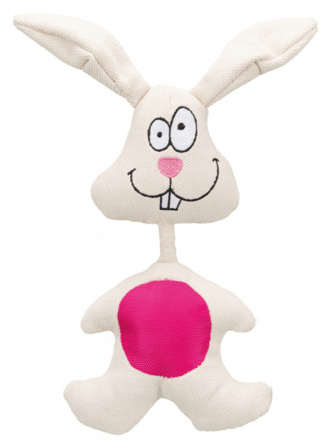 Игрушка для собак – TRIXIE Rabbit, fabric, 29 см title=