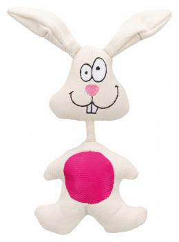 Rotaļlieta suņiem - Rabbit, fabric, 29 cm