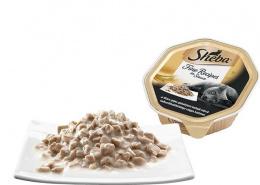 Konservi kaķiem - Sheba Tray ar tītara gaļas gabaliņiem mērcē, 85 g