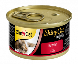 Konservi kaķiem - GimCat ShinyCat Chicken, 70 g