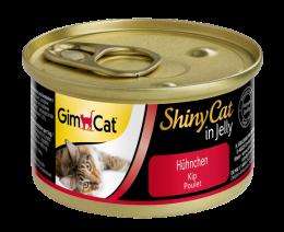 Консервы для кошек - Gimpet ShinyCat с курицей, 70 г
