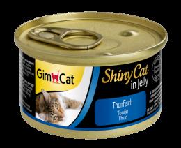 Konservi kaķiem - GimCat ShinyCat Tuna, 70 g