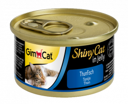 Консервы для кошек - GimCat ShinyCat Tuna, 70 г