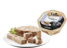 Konservi kaķiem - Sheba Tray ar teļa gaļu, 85 g