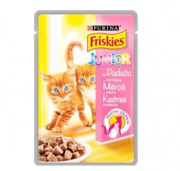 Konservi kaķiem - Friskies Alupouch junior, 100 g