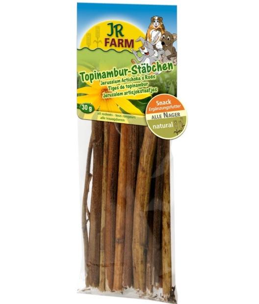 Gardums grauzējiem - JR FARM Jerusalem Artichokes' Rod (Topinambūrs), 30 g