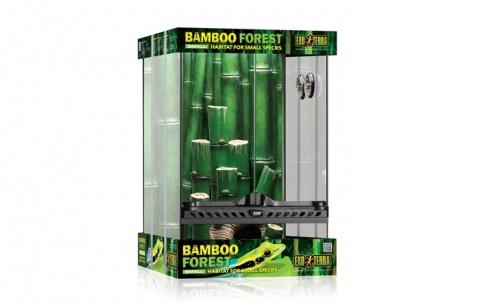 Террариум - Exo Terra Bamboo Forest Habitat Small, 30*30*45 cм title=