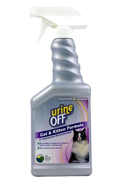 Līdzeklis telpu tīrīšanai - Veda Urine off cat and kitten, 500 ml