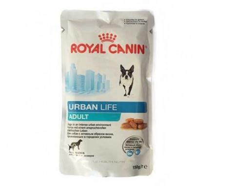 Konservi suņiem - Royal Canin Urban Life Adult 150 g title=
